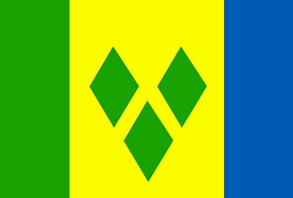 Saint Standard Vincent Flag Sign And Then Nation T