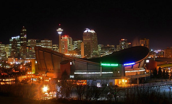 Calgary Buildings Architecture Saddle Dome Canada