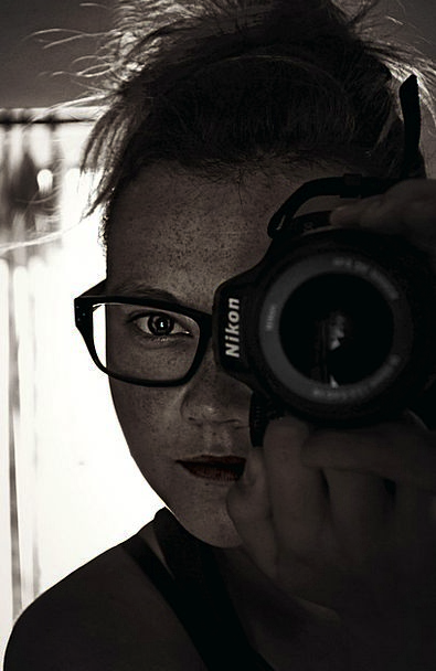 Person Being Self-Portrait Camera