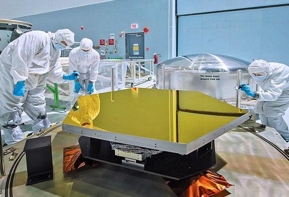 Space Telescope Mirror Glass Telescope Contract Mi