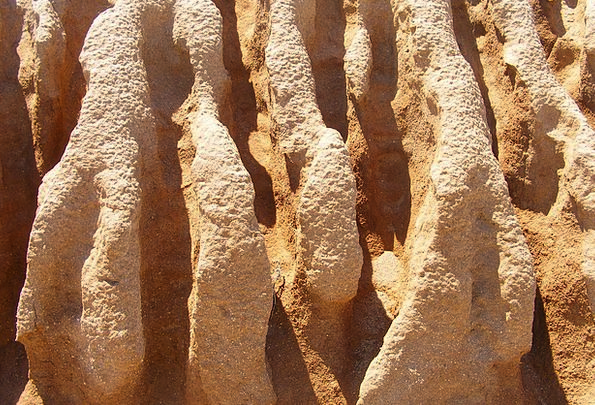 Erosion Corrosion Water Grooves Sand Stone Weather
