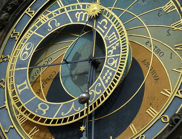 Astronomical Clock Buildings Architecture Old Town
