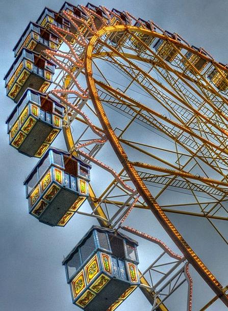 Fair Reasonable Dom Folk Festival Ferris Wheel Car