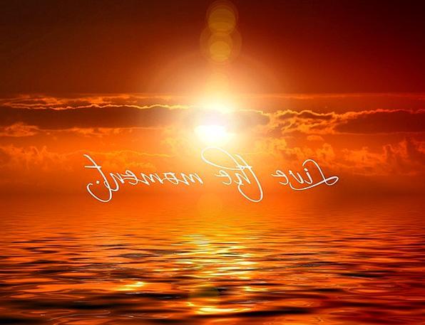 Sunset Sundown Vacation Mist Travel Meditation Tho