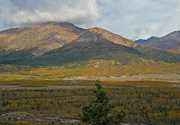 Alaska Landscapes Nature Wilderness Wasteland Tund