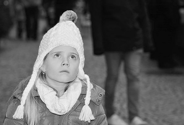 Child Youngster Lassie Cap Lid Girl View Opinion L