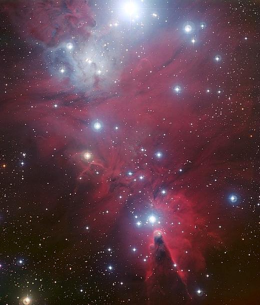 Ngc 2264 Cone Nebula Dark Nebula Universe Star Clu