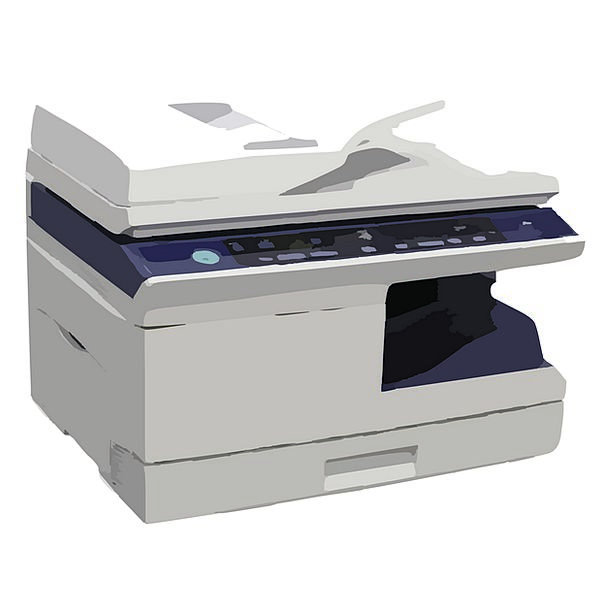 Photocopier Copier Multifunction Printer Fax Facsi