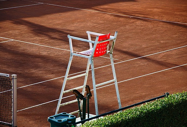 Tennis Court Arbitrator Chair Chairperson Referee