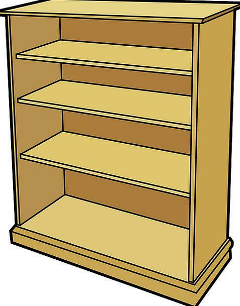 Bookshelf Shelf Defers Bookcase Shelves Wooden Tim