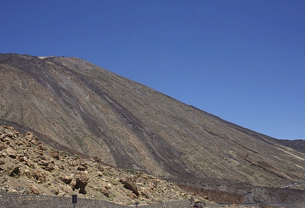 Teide Landscapes Nature Canary Islands Tenerife Pi