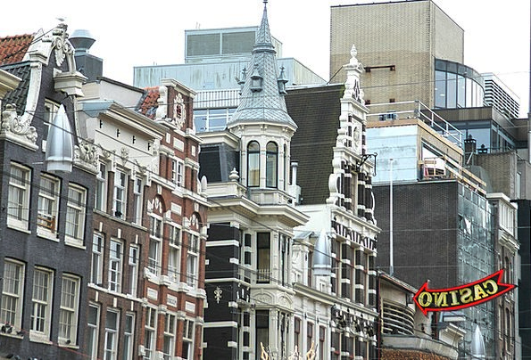 Amsterdam Buildings Households Architecture Casino