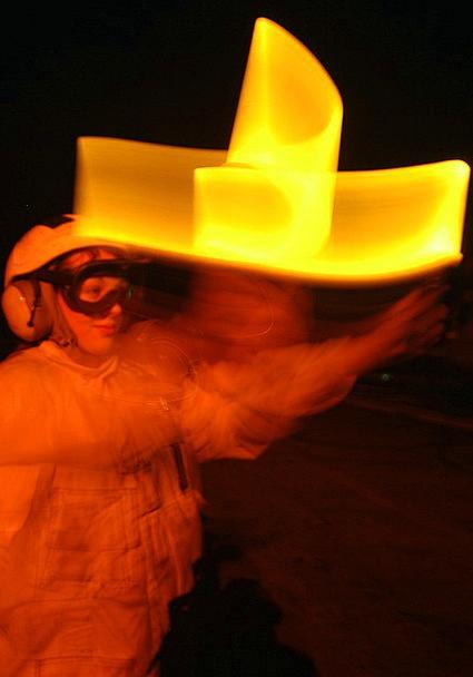 Arabian Gulf Us Navy Uss Kearsage Colors Sailor De