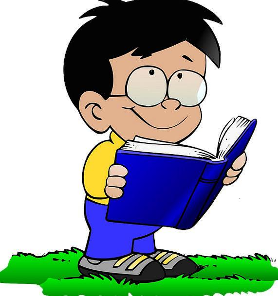 Boy Lad Spectacles Book Volume Glasses Nice School