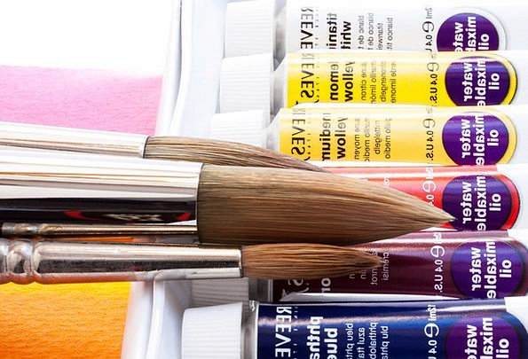 Oil Paints Hue Soluble In Water Color Artist Paint