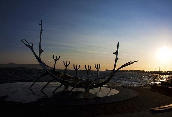 Solar Voyager Vacation Travel Sunset Sundown Icela