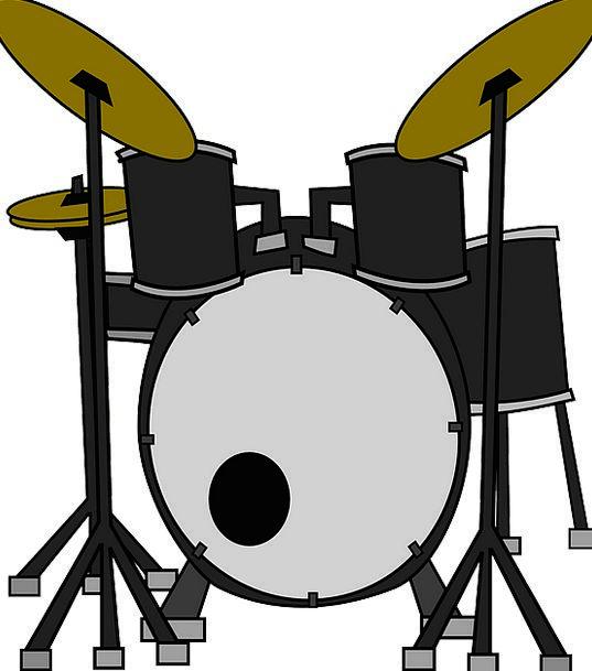 Drums Barrels Tools Music Melody Instruments Set U