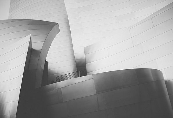 Walt Disney Concert Hall Buildings Architecture Di