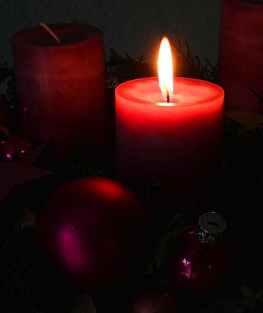 Advent Wreath Arrival Christmas Advent Light Candl