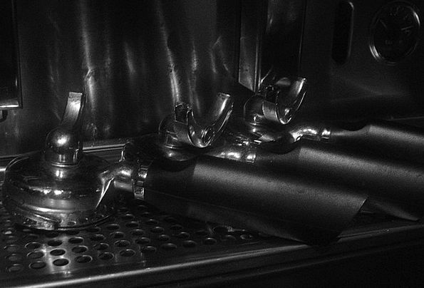 Espresso Mechanism Bistro Brasserie Machine Hot Co