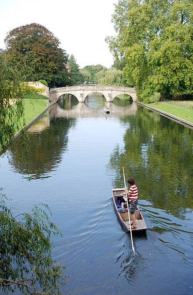Punt Bet River Stream Cambridge Boat Ship Punting