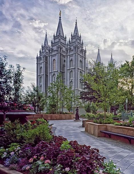 Salt Lake City, Temple, Shrine, Utah, Landmark, Church Of Latter Day ...