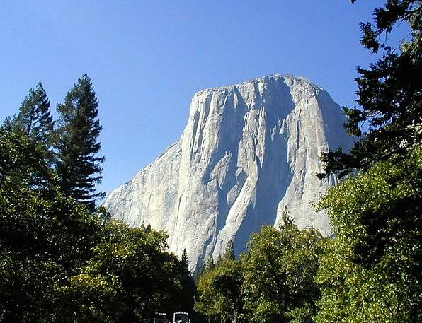 Half Dome Landscapes Nature Yosemite California Ro