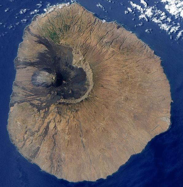 Island Isle Cape Verde Island Fogo Ilhas De Sotave