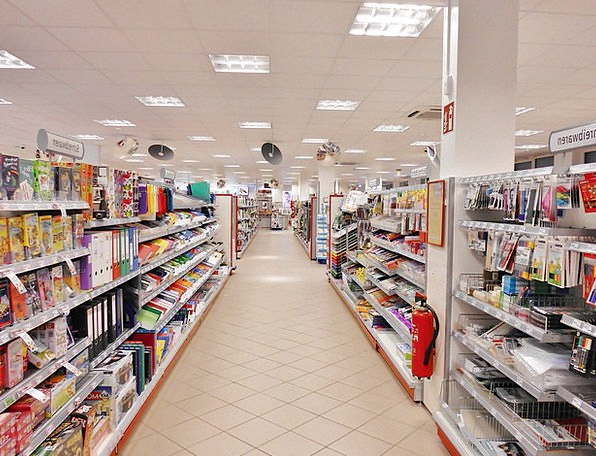 Supermarket Superstore Spending Rack Gear Shopping