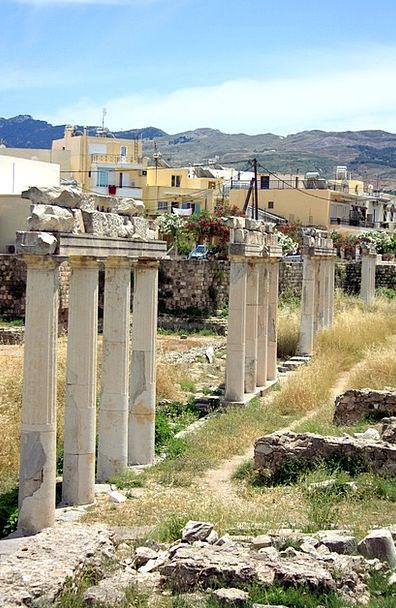 Columns Pillars Buildings Architecture Ancient Ant