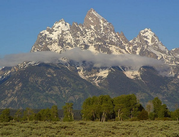 Grand Teton National Park Landscapes Nature Usa Wy