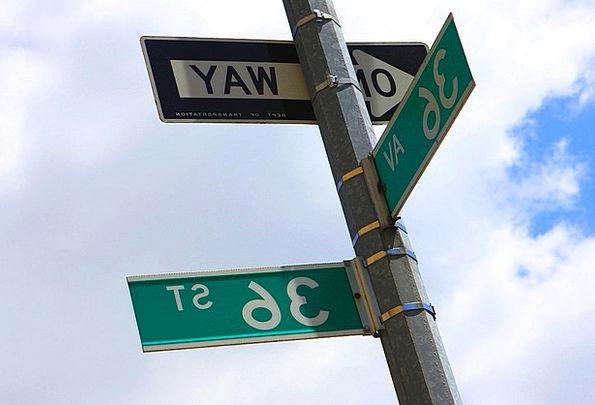 Sign Symbol Traffic Junction Transportation Street