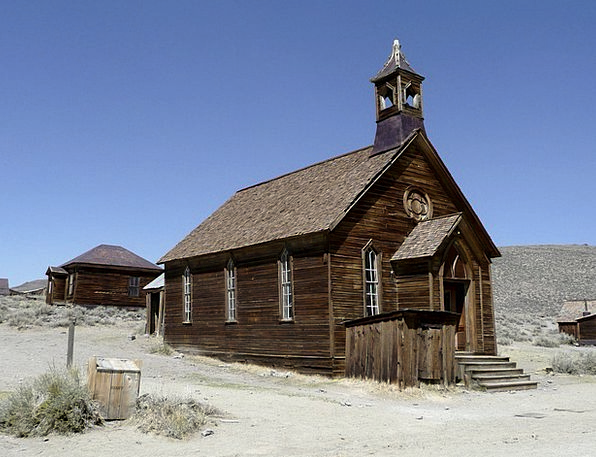 Bodie California Ghost Town Gold Usa Ancient Old A