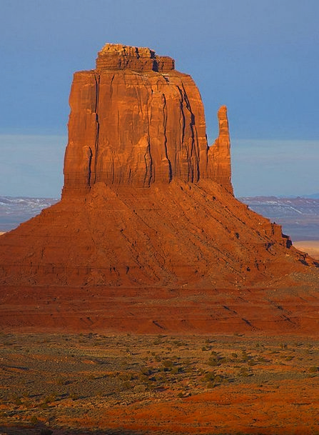 Monument Valley Usa Arizona Route 66 Towers Loneli