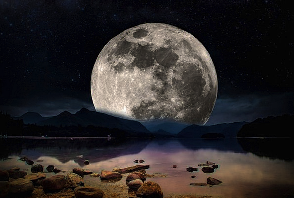 Landscape Scenery Landscapes Nightly Nature Moon R