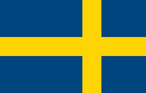 Sweden Standard Country Republic Flag Symbol Europ