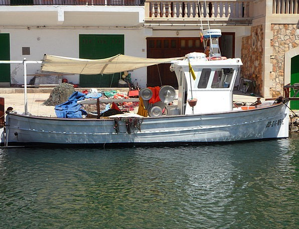 Fishing Boat Harbor Mallorca Port Booked Cala Figu