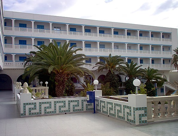 Hotel Guesthouse Hammamet Palm Trees Tunisia The R
