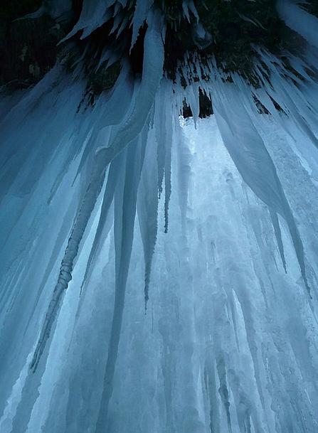 Ice Cave Icicle Stalactite Ice Curtain Stalactites