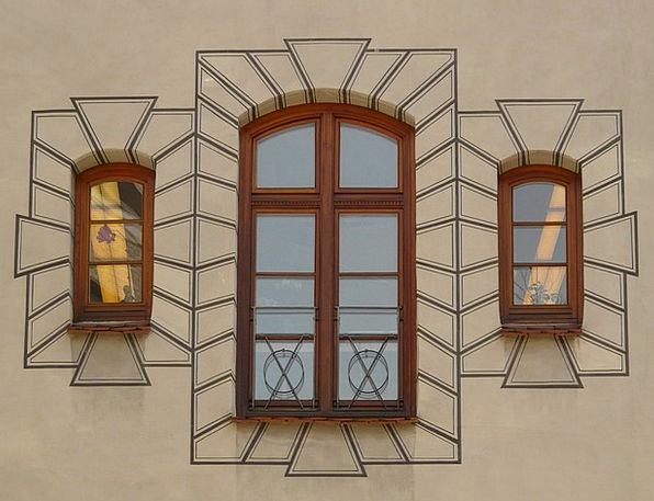 Window Gap Buildings Partition Architecture Facade