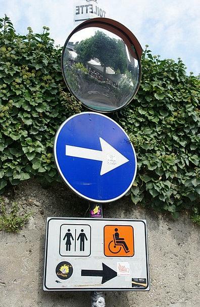 Traffic Sign Almanac Toilet Lavatory Directory Tra