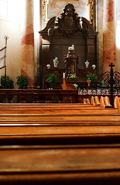 Altar Table Buildings Building Architecture Bench
