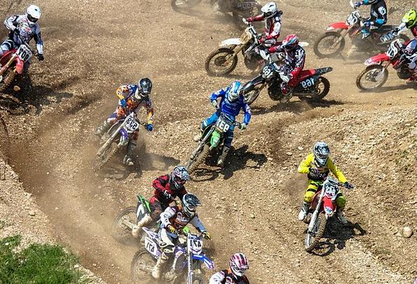 Motocross Scrambling Rivalry Sports Sporting Compe