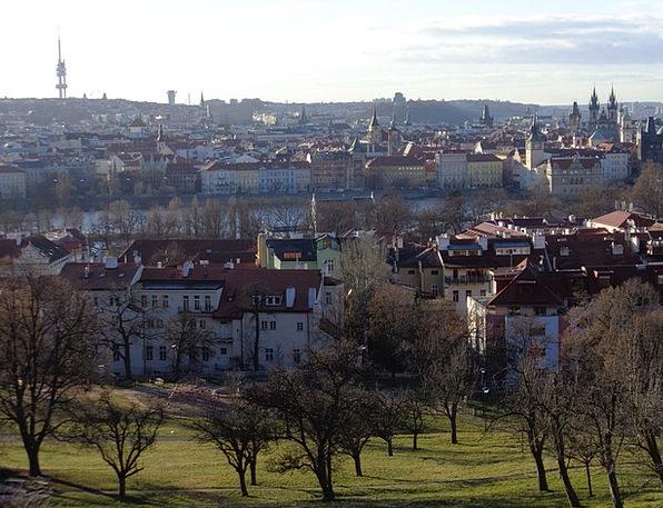 Prague View Old Town Panorama