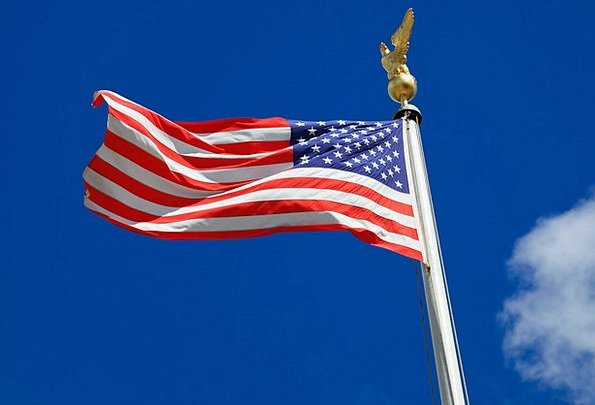 Flag Standard July United States National America