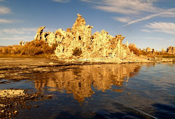 Tufa Landscapes Nature Mono Lake Tuff Late Sun Sal