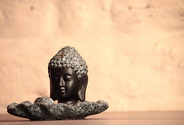 Buddha Figurine Statuette Statue Religion Carving