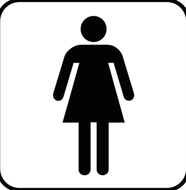Woman Lady Fashion Females Beauty Wc Women Toilet