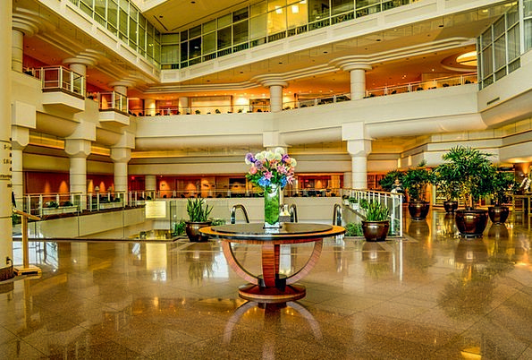 Vancouver Pan Pacific Hotel Canada Lobby Foyer