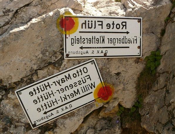 Climbing Uphill Red Flüh Friedberger Climbing Shie